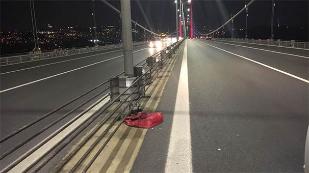 15 Temmuz Köprüsü çift yönlü trafiğe kapatıldı