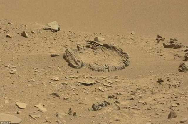 Mars yüzeyinde gizemli görüntüler uzmanları heyecanlandırdı