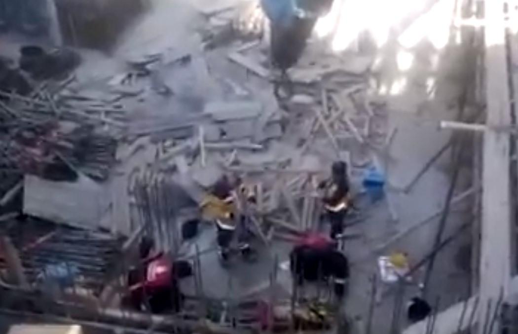 İstanbul'da beton mikseri paniği, yaralılar var !