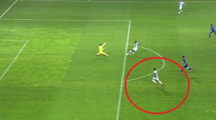 Konyaspor'un golü için skandal karar !