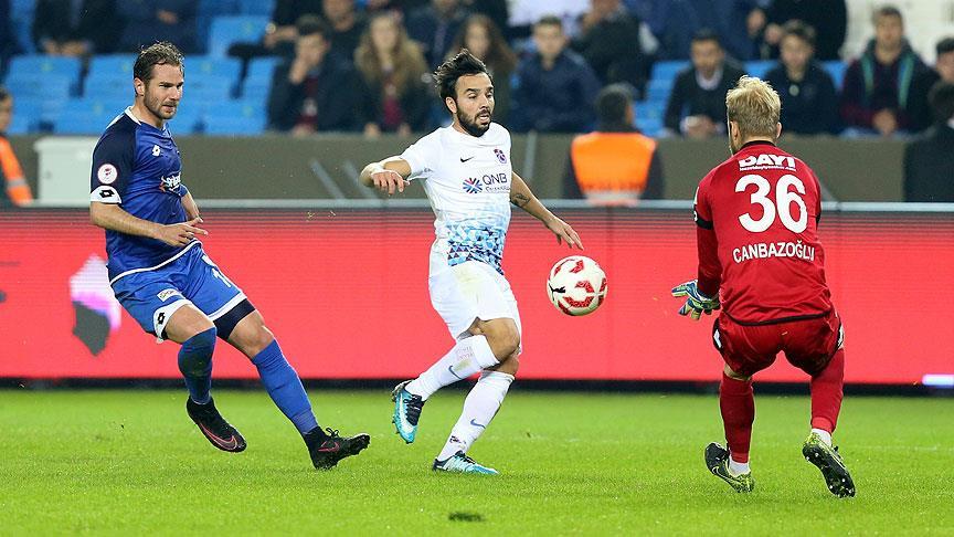 Trabzonspor kupada rahat turladı