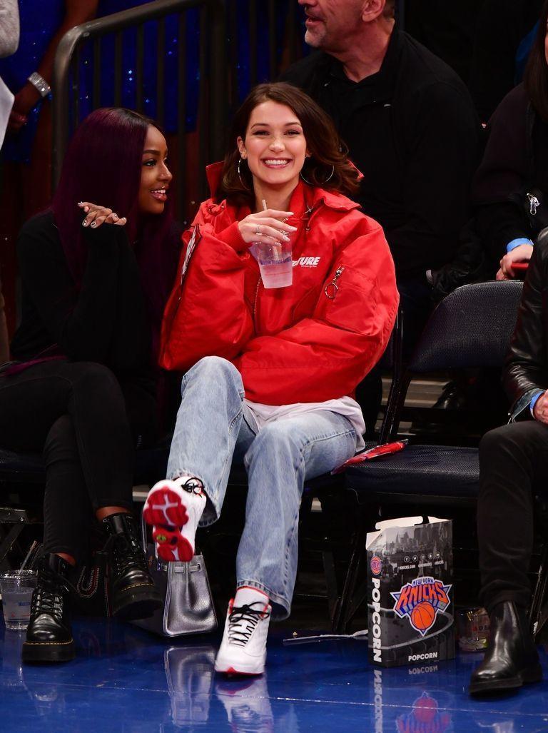 NBA'de Bella Hadid rüzgarı