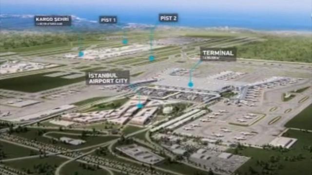 İşte 5 dakikada yeni havalimanı ! Tanıtım filmi hazırlandı