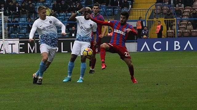 Trabzonspor'un serisi Karabük'te son buldu