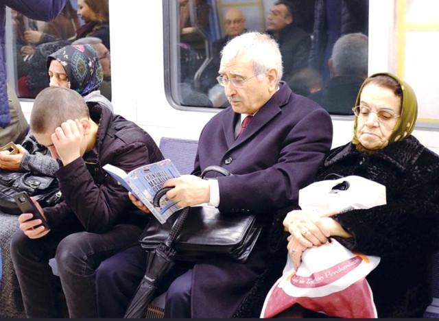 Merkez Bankası eski başkanı metroda !