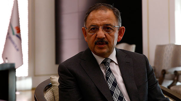 Bakan Özhaseki'den koku açıklaması