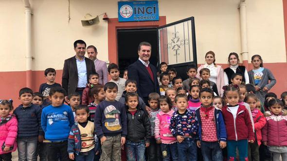Sarıgül'den Cizreli çocuklara yeni yıl hediyesi