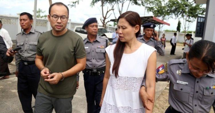 Myanmar'da hapse atılan TRT World ekibinden haber var