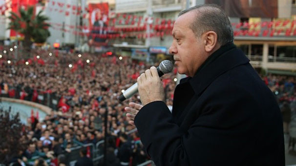 Erdoğan: ''Kimse bizi adam yerine koymazdı''