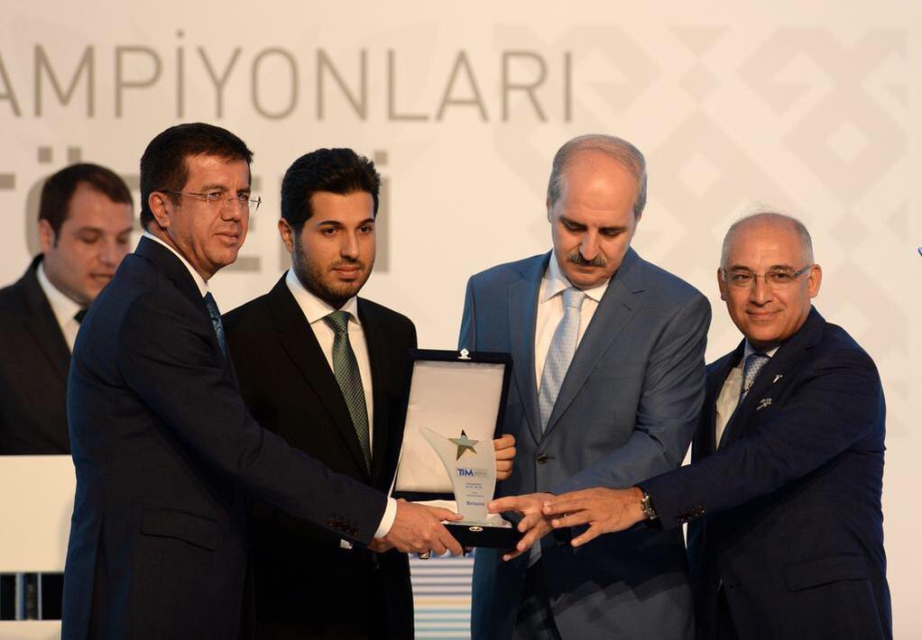 Reza Zarrab'a verilen ödül için