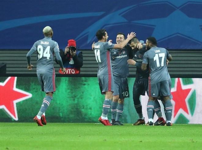 Leipzig'i evinde ezen Beşiktaş, Avrupa'nın da efendisi !