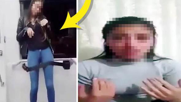 ''Engelli taklidi'' yapan üniversiteli genç kız özür diledi