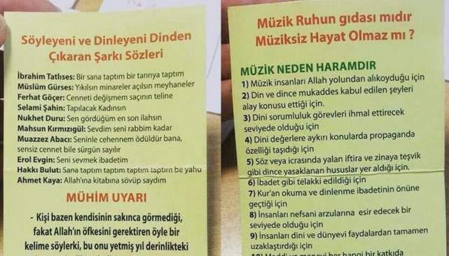 İstanbul Teknik Üniversitesi'nde skandal bildiri: Müzik haramdır