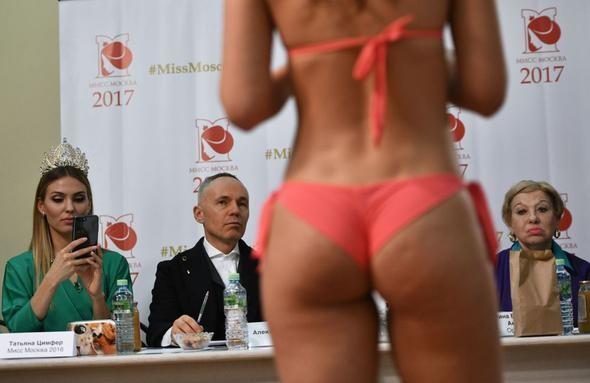 Rusya yeni güzelini böyle seçiyor