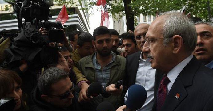 Kılıçdaroğlu: ''Sözcü'ye operasyon Türkiye'ye operasyondur''