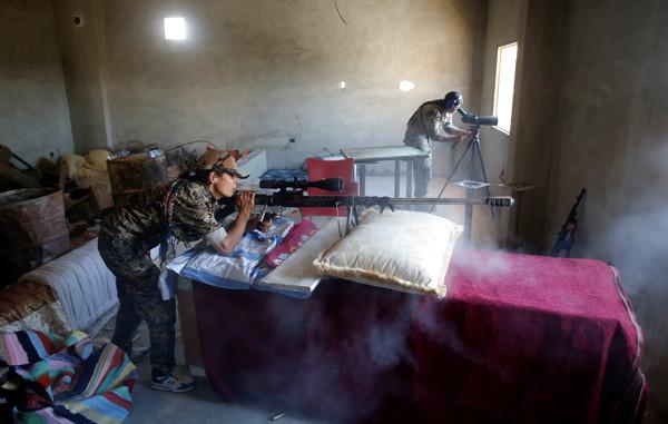YPG'li teröristlerin kullandığı silahlar görüntülendi