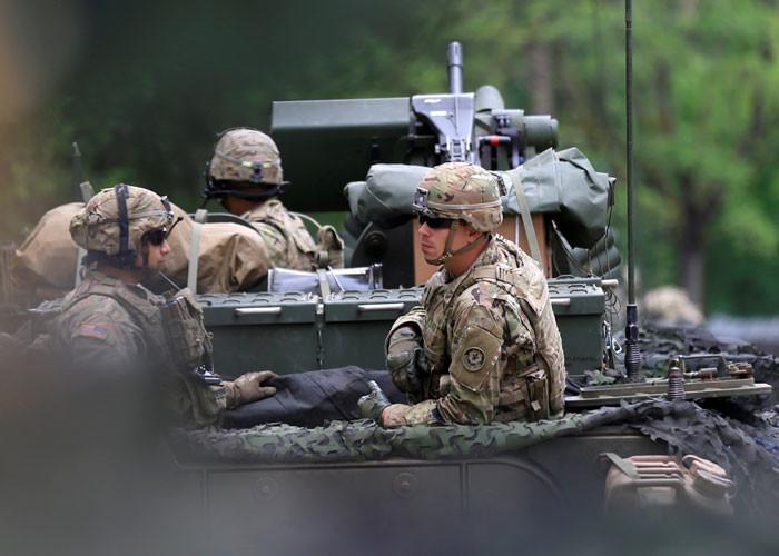 NATO'dan Rusya'ya gövde gösterisi !