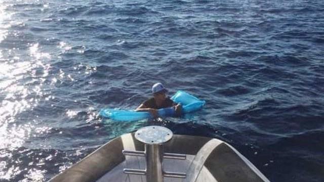 Deniz yatağı ile Yunanistan'a geçmeye çalıştı