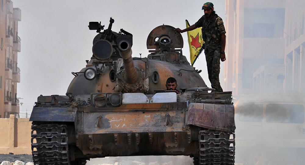 ABD'den çok önemli YPG açıklaması !