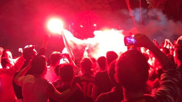 Florya'da Sneijder protestosu !