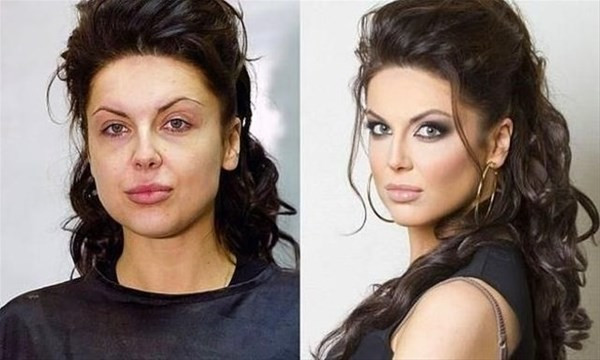 İşte Rus kadınlarının makyaj hilesi