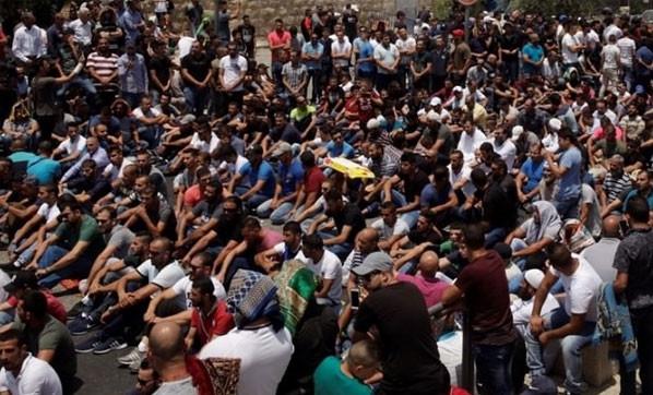 Protestolar giderek büyüyor ! Türkiye Mescid-i Aksa için ayakta