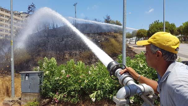 Antalya'da yangın paniği - Resim: 4