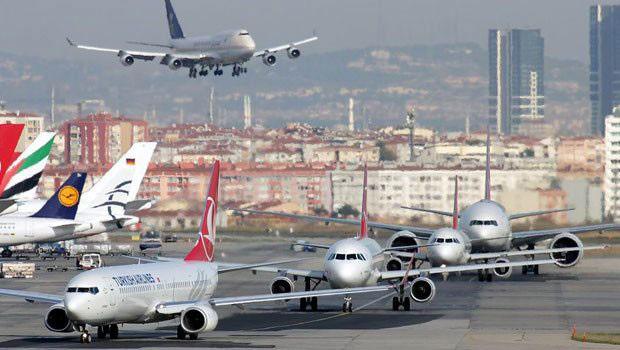 Atatürk Havalimanı'nda panik anları