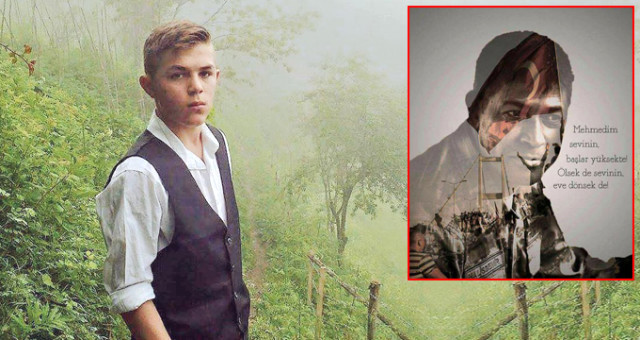 Terör kurbanı Eren Bülbül'ün ''Ömer Halisdemir'' paylaşımı
