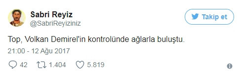 Volkan Demirel'in yediği gol sosyal medyayı salladı