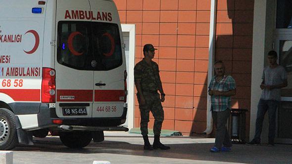 Sivas'ta onlarca asker hastanelik oldu