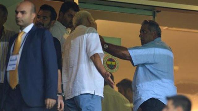 Fenerbahçe protokol tribününde ortalık karıştı !
