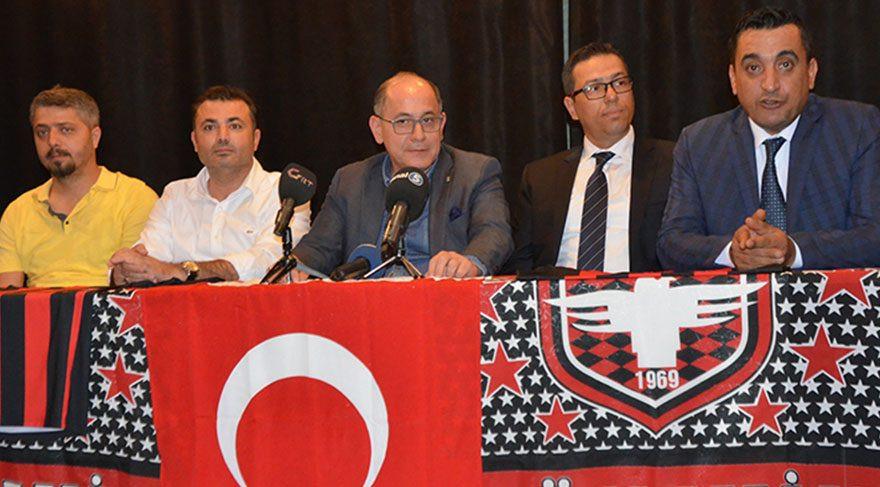 Gaziantepspor'da flaş istifa !