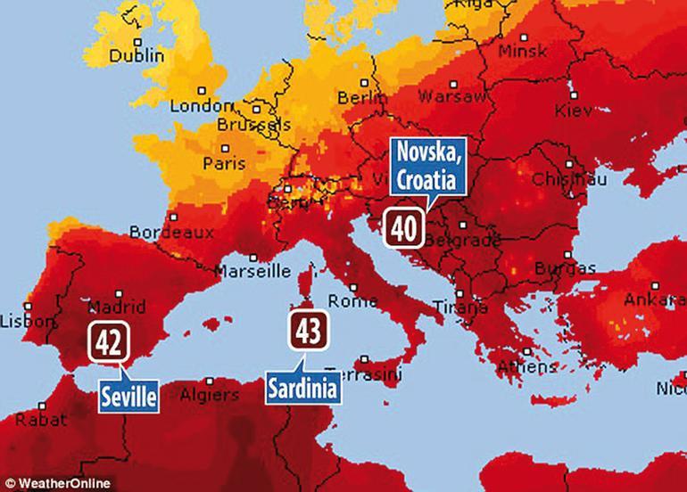 Avrupa'da ''şeytan'' alarmı