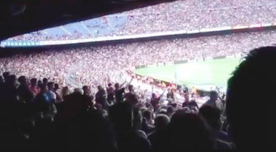 Barcelona'dan skandal Neymar tezahüratı
