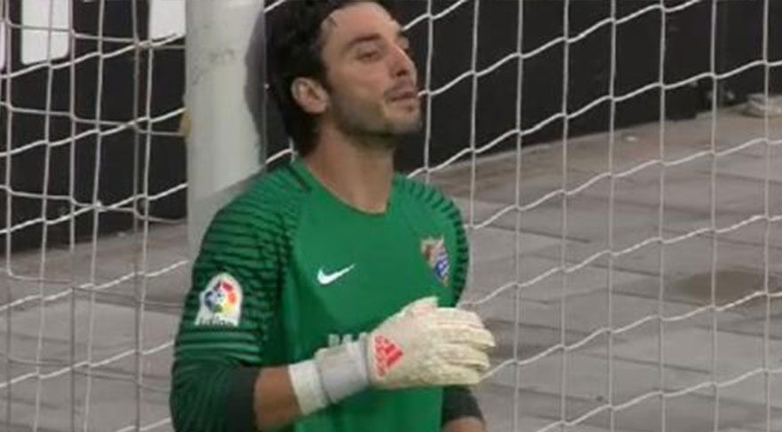 Cenk Gönen'in yediği gol Malaga'yı yaktı