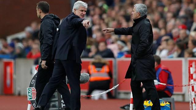 Jouse Mourinho'ya küfür şoku !