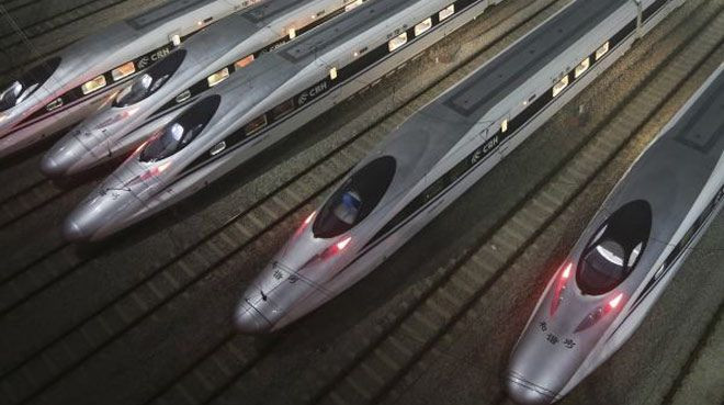 ''Hızlı'' demek az kalır ! Bu tren resmen uçacak