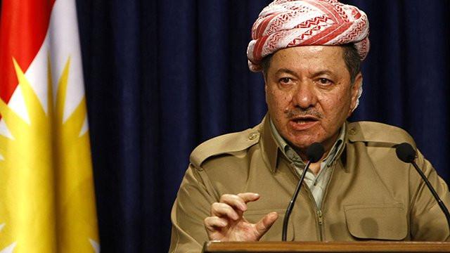 Barzani: Sınırlarımızı kendimiz çizeriz