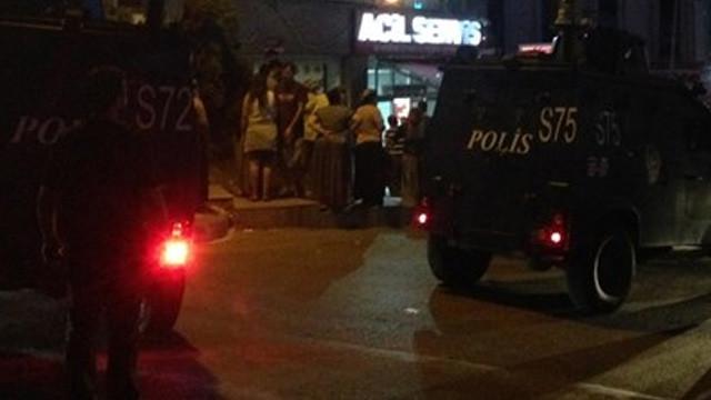 Maltepe'de kahvehane taradılar: 1 ölü, 2 yaralı