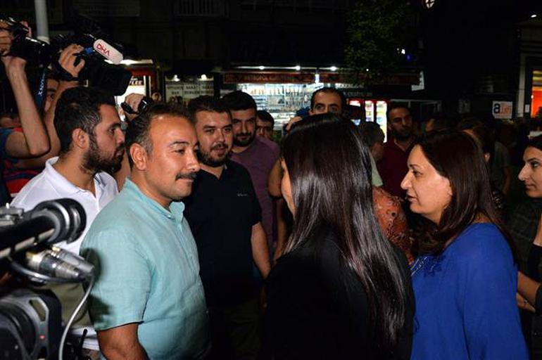 Polis müdürü ile HDP'li vekil arasında tartışma
