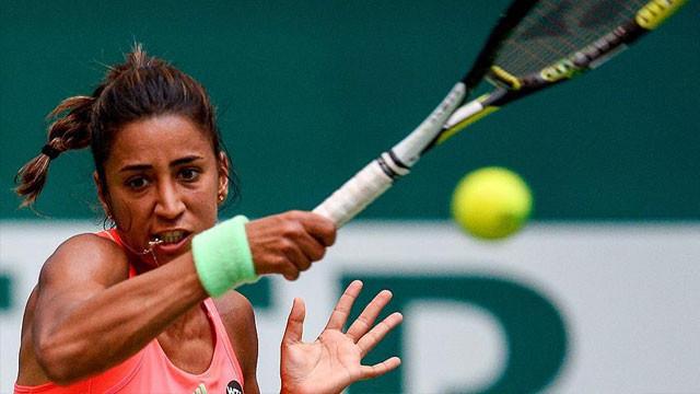 Çağla Büyükakçay, ITF turnuvasına veda etti