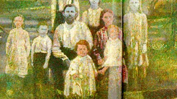 200 yıldır mavi tene sahip olan aile