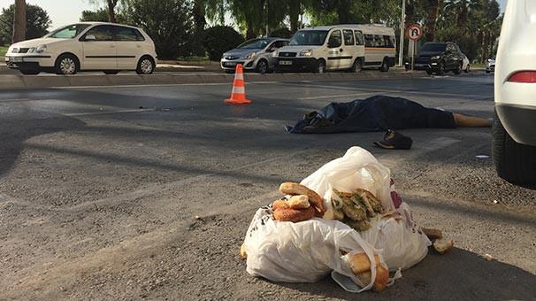 Kuşları yemlemeye giderken kazada öldü
