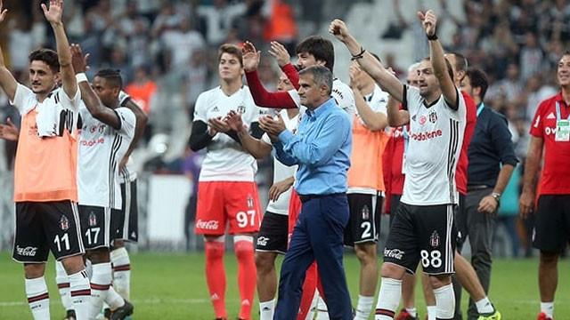 Beşiktaş'ta yeni sezonun transferi...