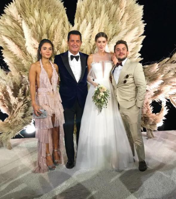 Acun Ilıcalı'nın muhteşem düğününden kareler