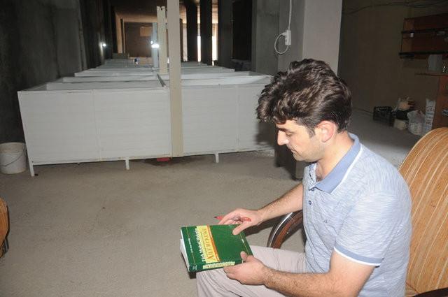 Hukuk okuyan öğrencinin solucan gübresi serüveni