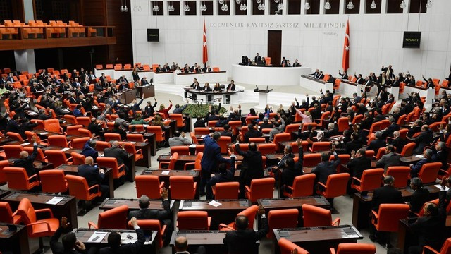 Irak tezkeresi Meclis'te ! İşte detaylar...