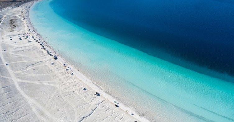 """Türkiye'nin Maldivleri """"Salda Gölü"""" Millet Bahçesi oluyor - Resim: 4"""