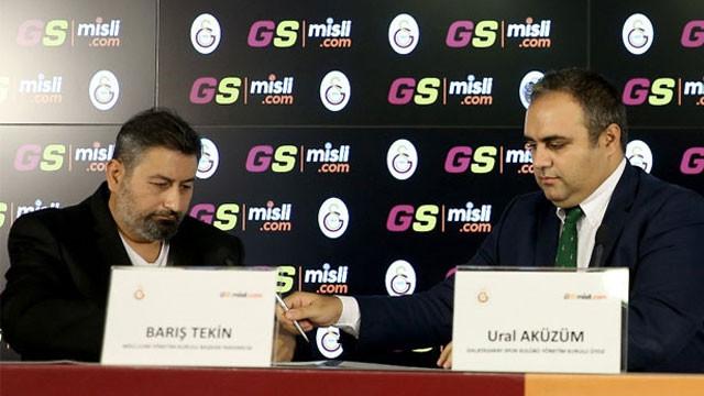 Galatasaray'a yeni sponsor ! İmzalar atıldı...